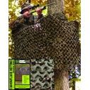 FILET CAMOUFLAGE MILITAIRE BASIC WOOD 2.4 X 6 METRES