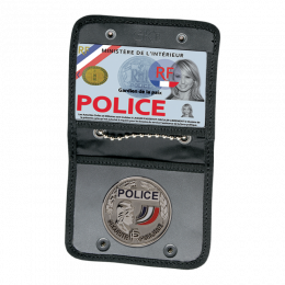 PORTE MEDAILLE ET GRADE POLICE NATIONALE GK