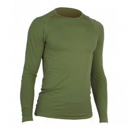 T-SHIRT MILITAIRE RESPIRANT ACTIVE LINE SUMMIT VERT OD MANCHES LONGUES