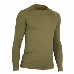 TSHIRT MILITAIRE RESPIRANT ACTIVE LINE SUMMIT COYOTE MANCHES LONGUES