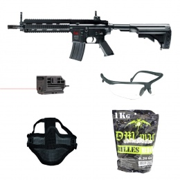 PACK COMPLET AIRSOFT REPLIQUE HK416 UMAREX POUR DEBUTANT