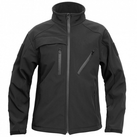 VESTE SECURITE SOFTSHELL ELITE ARES NOIR