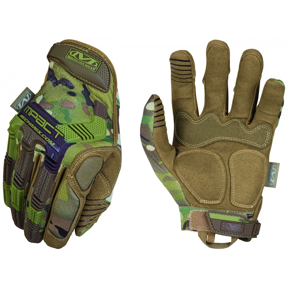 GANTS MILITAIRE MECHANIX M-PACT MULTICAM