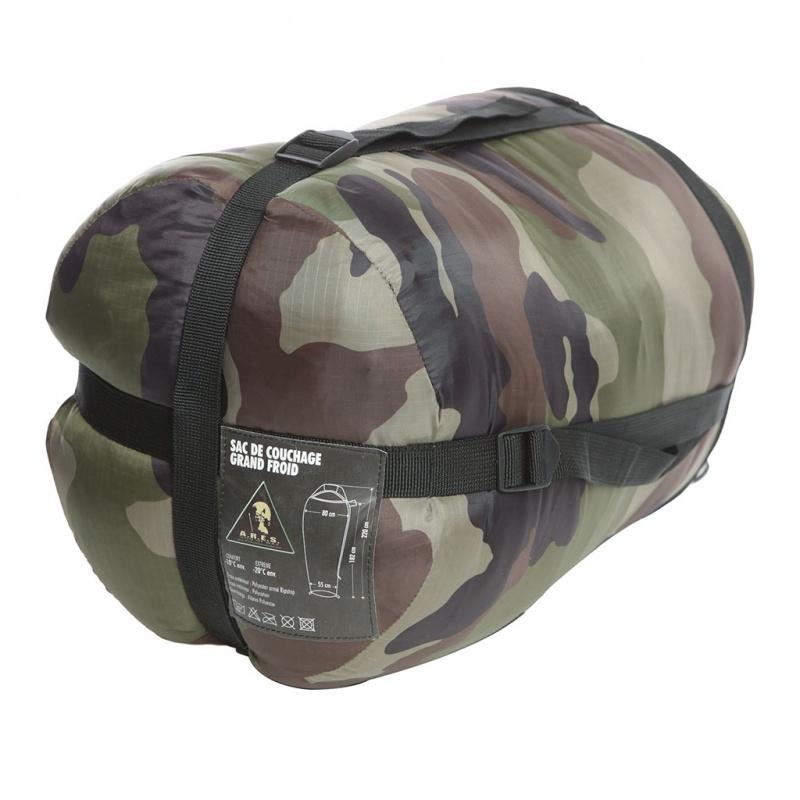 sac de couchage militaire ares x pro extreme cam ce. Black Bedroom Furniture Sets. Home Design Ideas