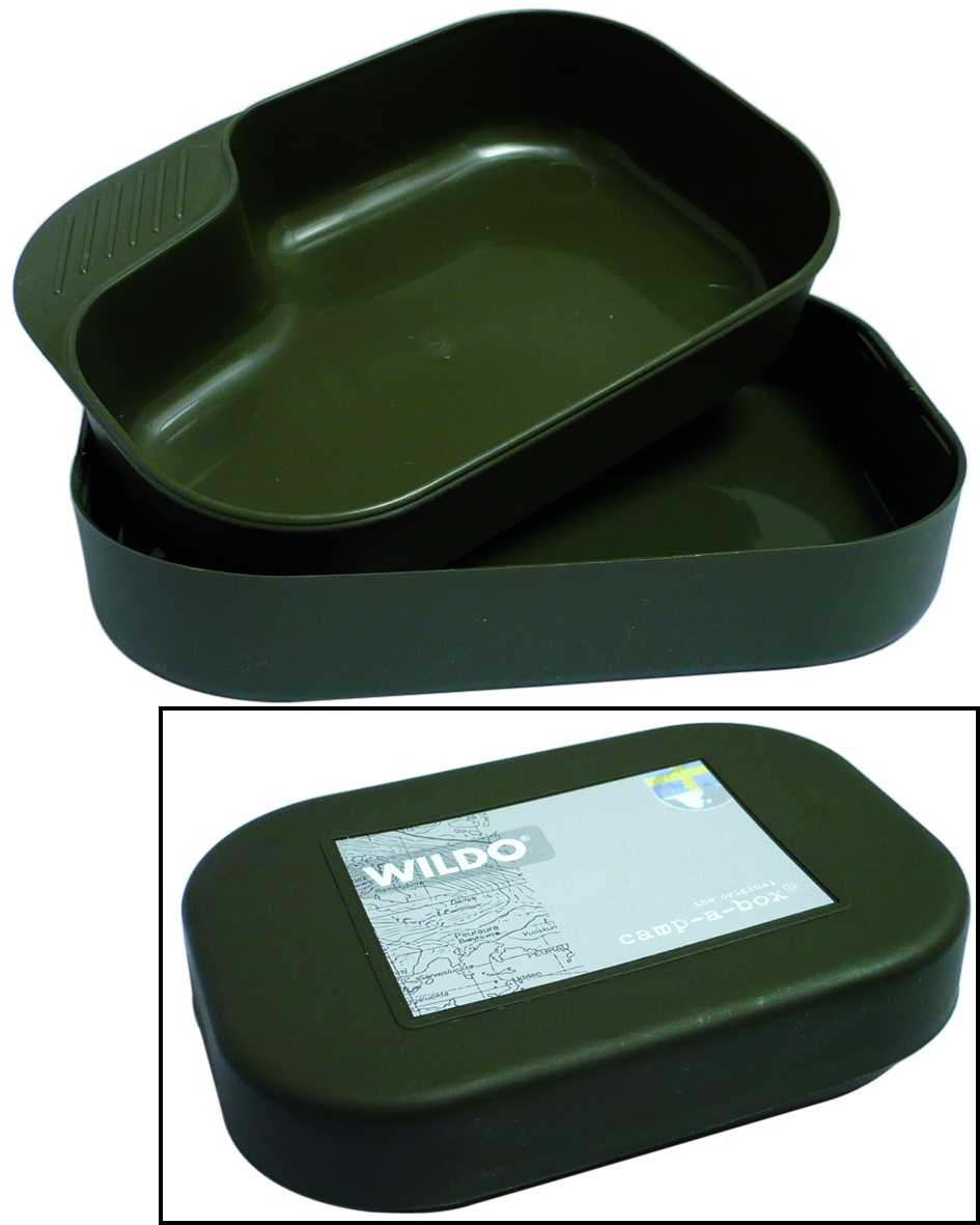 GAMELLE 2 ELEMENTS WILDO CAMP-A-BOX OLIVE