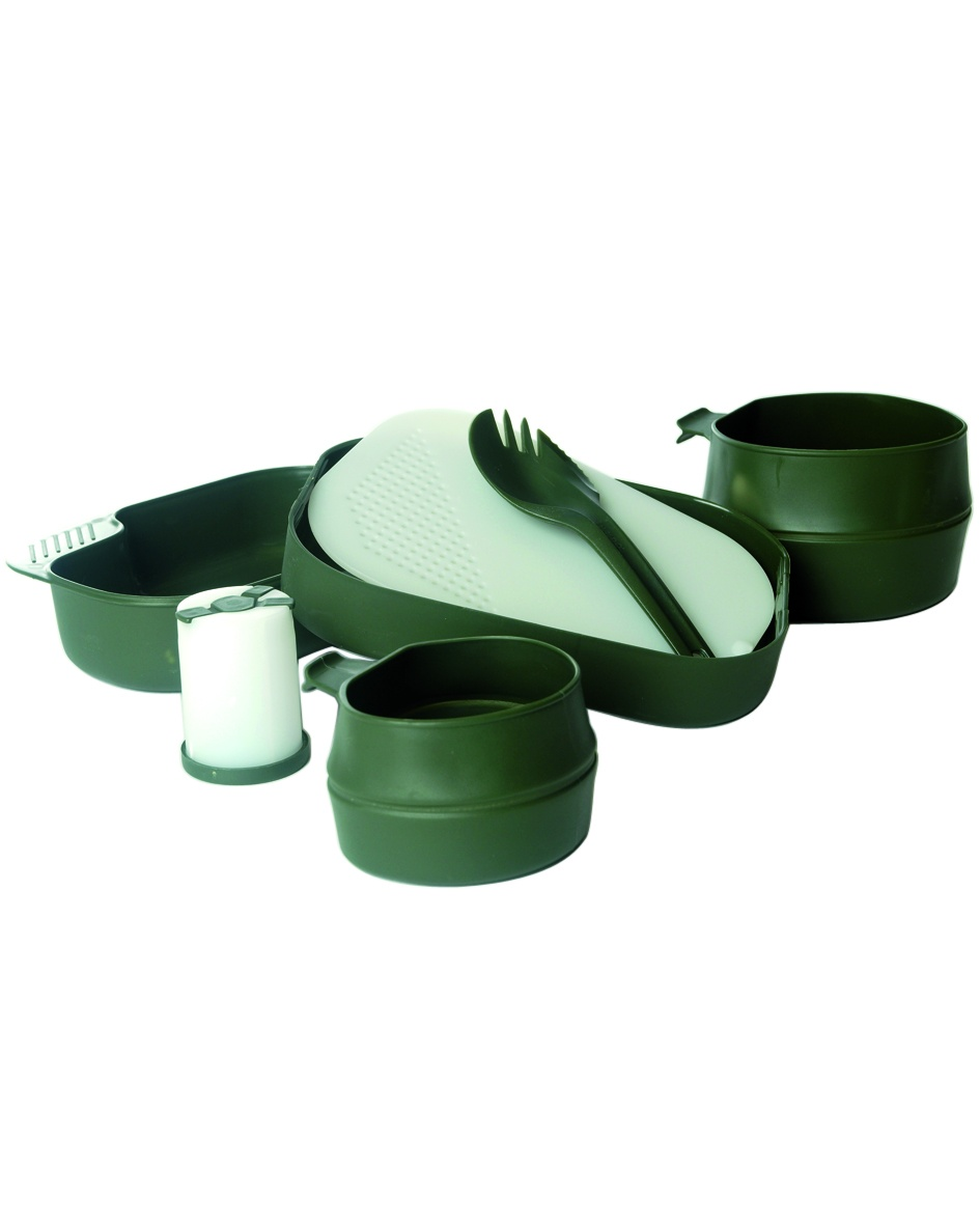GAMELLE 7 ELEMENTS WILDO CAMP-A-BOX OLIVE