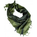 KEFFIEH / SHEMAG MILITAIRE COTON VERT OD