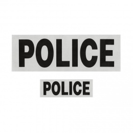 LOT DOSSARD + BANDE POITRINE POLICE