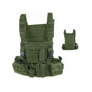 Gilet tactique militaire Defcon 5 Vert OD