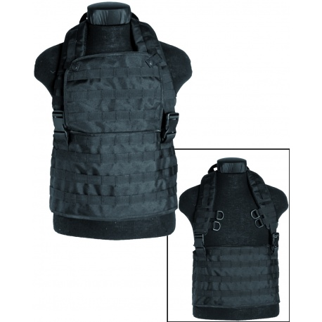 GILET TACTIQUE CHEST RIG MOLLE MIL-TEC NOIR