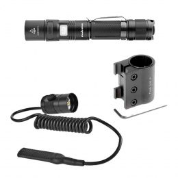 PACK ECLAIRAGE TACTIQUE FENIX - LAMPE TACTIQUE UC35 + SWITCH + MONTAGE PICATINNY