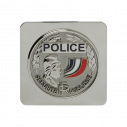 MEDAILLE POLICE NATIONALE SUPPORT CARRE GK
