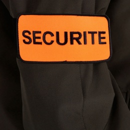 BRASSARD SECURITE FLUORESCENT