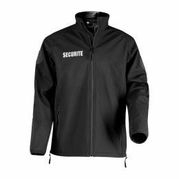 VESTE SECURITE SOFTSHELL FIRST SECU ARES NOIR