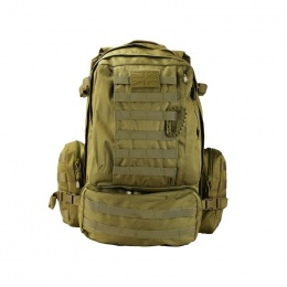 SAC A DOS MILITAIRE VIKING KOMBAT 60 LITRES COYOTE