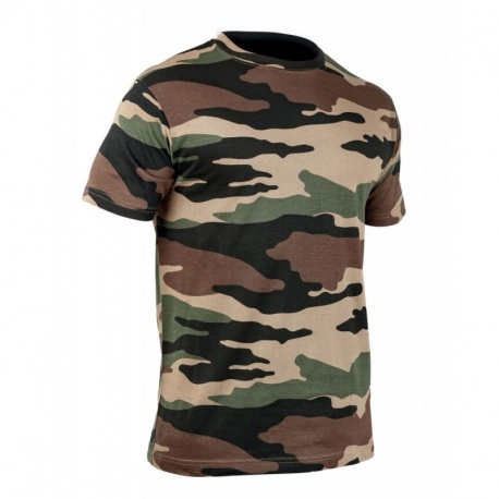 T-SHIRT MILITAIRE STRONG T.O.E. CAM CE