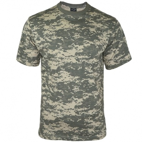 T-SHIRT MILITAIRE EN COTON DIGITAL US