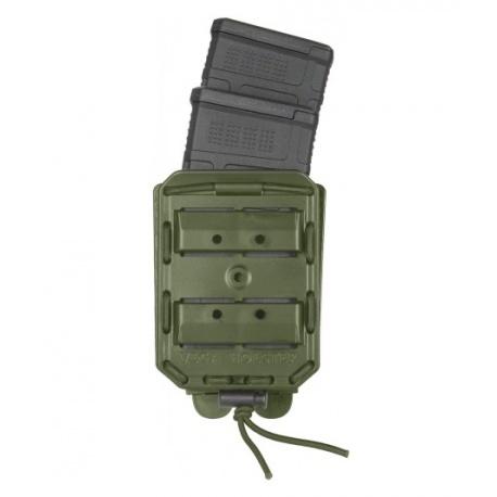 PORTE CHARGEUR DOUBLE VEGA 8BL POUR HK416/FAMAS VERT OD