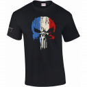 T-SHIRT MILITAIRE PUNISHER FRANCE