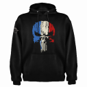 SWEAT-SHIRT MILITAIRE PUNISHER FRANCE