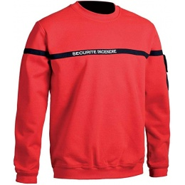SWEAT-SHIRT SECURITE INCENDIE SSIAP T.O.E.