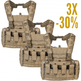 LOT 3 CHEST RIG MKII TASMANIAN TIGER SABLE