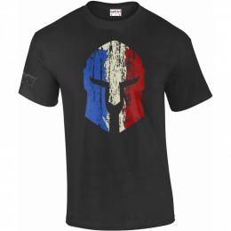 T-SHIRT MILITAIRE SPARTIATE FRANCE
