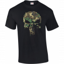 T-SHIRT MILITAIRE PUNISHER CAM CE