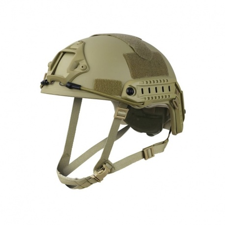CASQUE AIRSOFT KOMBAT TACTICAL TAN