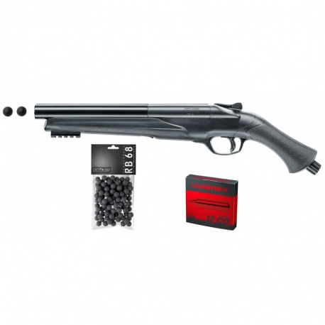 PACK COMPLET PRÊT À TIRER WALTHER T4E HDS CAL. 68 16 JOULES