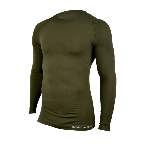 T-SHIRT MILITAIRE THERMOREGULANT TECHNICAL LINE SUMMIT VERT OD
