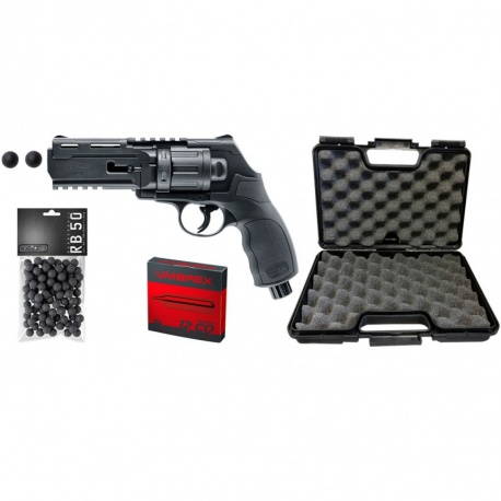 PACK COMPLET PRÊT À TIRER WALTHER T4E HDR CAL. 50 11 JOULES