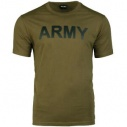 T-SHIRT MILITAIRE ARMY MIL-TEC VERT OD