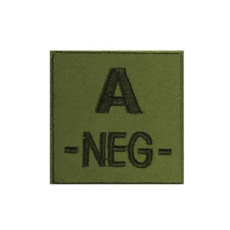 PATCH MILITAIRE A- VERT OD