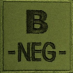 PATCH MILITAIRE B- VERT OD