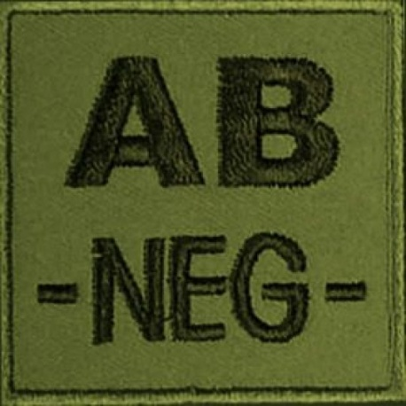 PATCH MILITAIRE AB- VERT OD