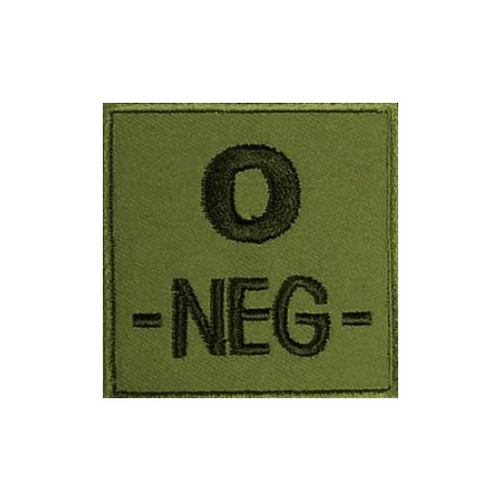 PATCH MILITAIRE O- VERT OD