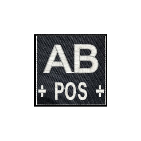 PATCH AB+ NOIR
