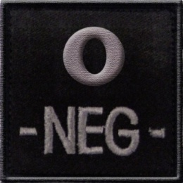 PATCH O- NOIR