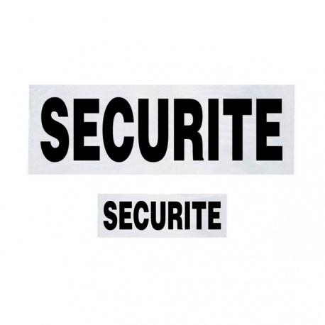 LOT DOSSARD + BANDE POITRINE SECURITE AVEC VELCRO