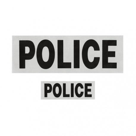 LOT DOSSARD + BANDE POITRINE POLICE AVEC VELCRO