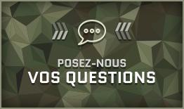 Posez-nous vos questions